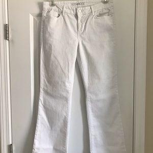 White Flare Leg Joe's Jeans